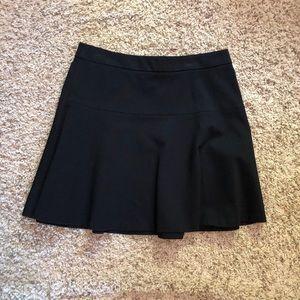 Banana Republic flare mini skirt